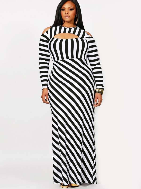Plus Size Maxi Dresses 2014_37