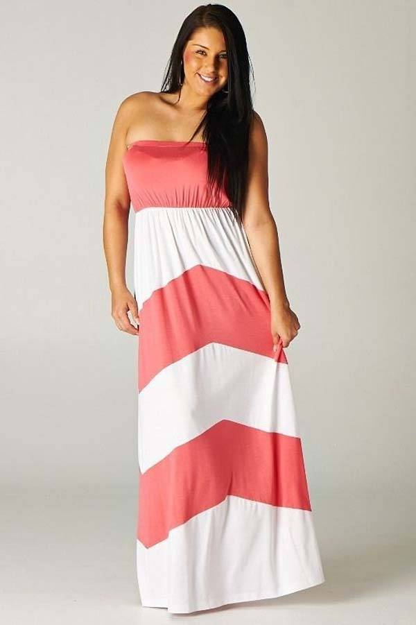 Plus Size Maxi Dresses 2014_38