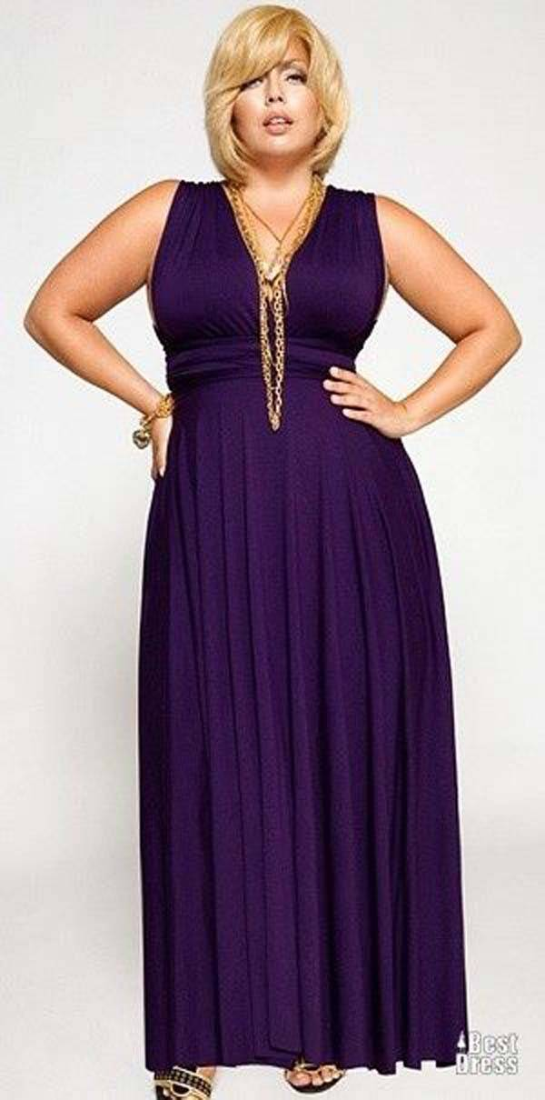 Plus Size Maxi Dresses 2014_39