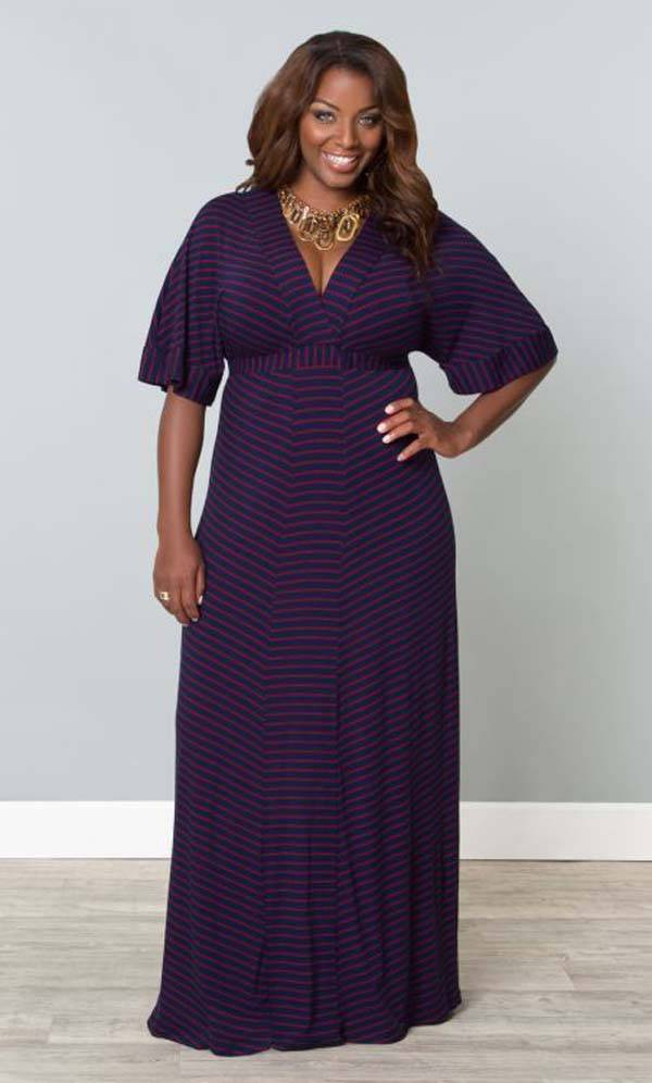 Plus Size Maxi Dresses 2014_40
