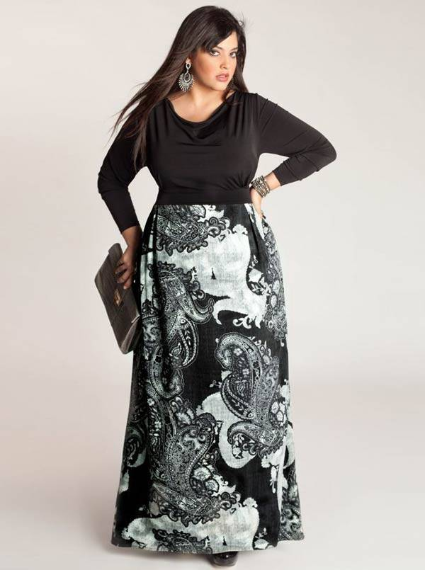 Plus Size Maxi Dresses 2014_41