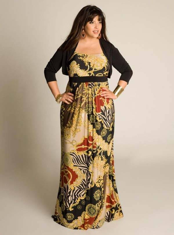 Plus Size Maxi Dresses 2014_43