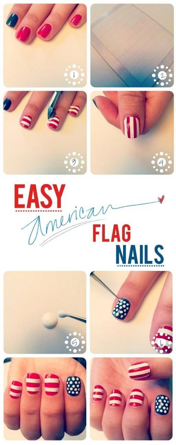 Memorial Day Nail Designs (1)