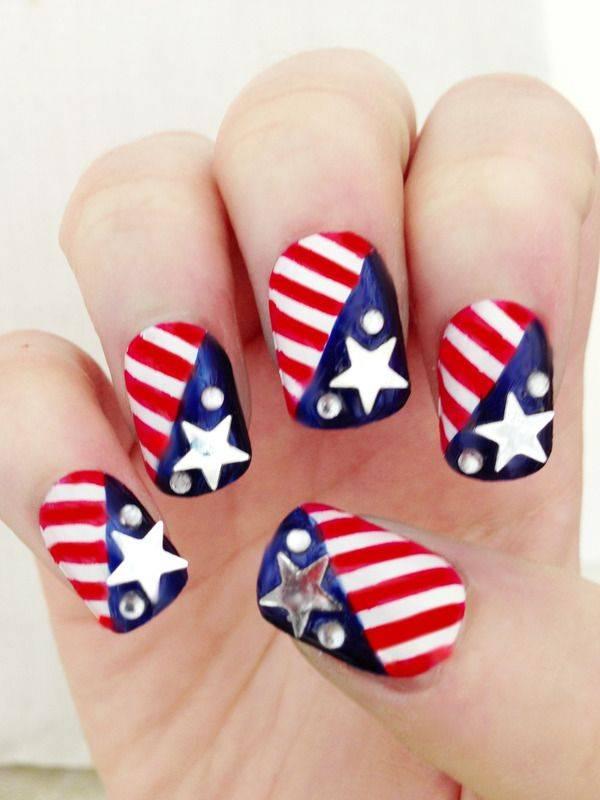Memorial Day Nail Designs (5)