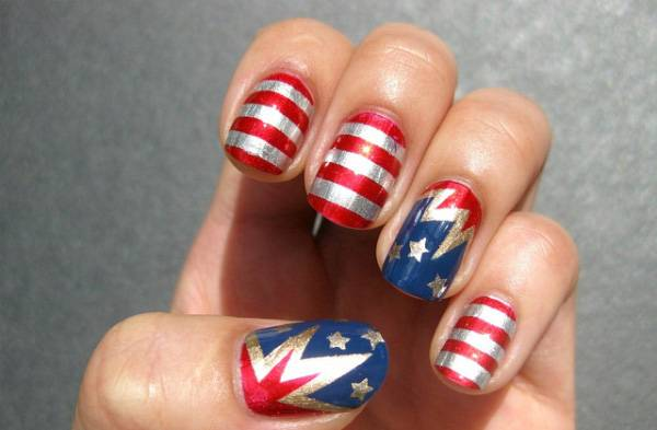 Memorial Day Nail Designs (7)