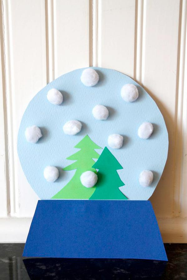 Top 33 DIY Christmas Crafts For Kids (27)