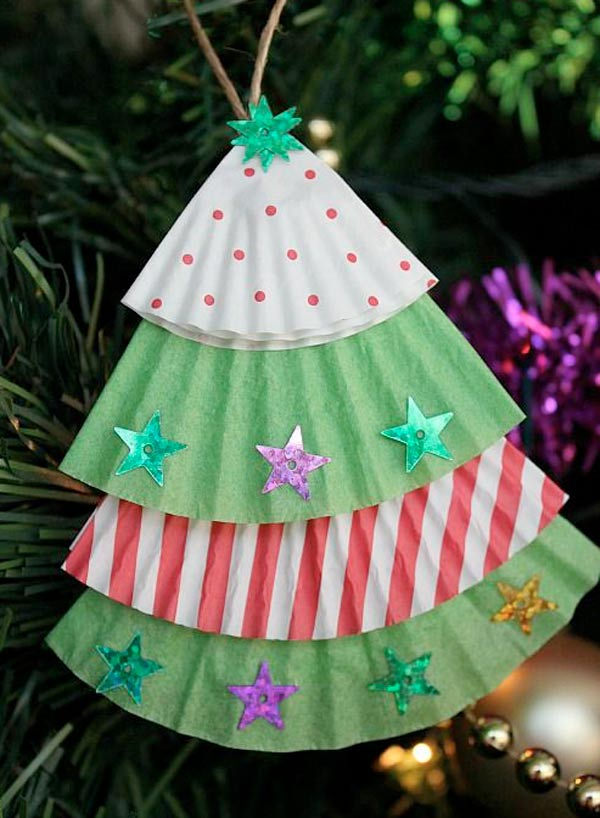 Top 33 DIY Christmas Crafts For Kids (29)