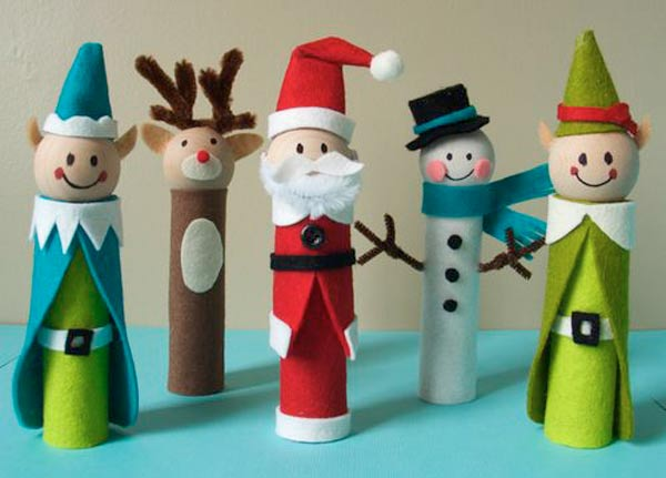 Top 33 DIY Christmas Crafts For Kids (30)