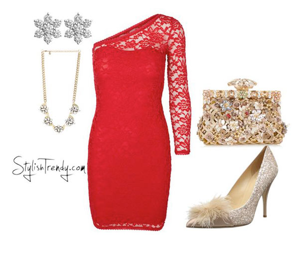Christmas party outfits 2015 By Stylish Trendy (7)