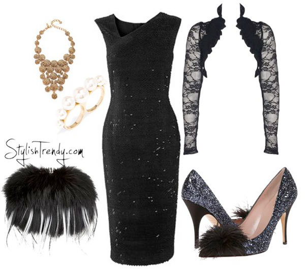 Christmas party outfits 2015 By Stylish Trendy (8)
