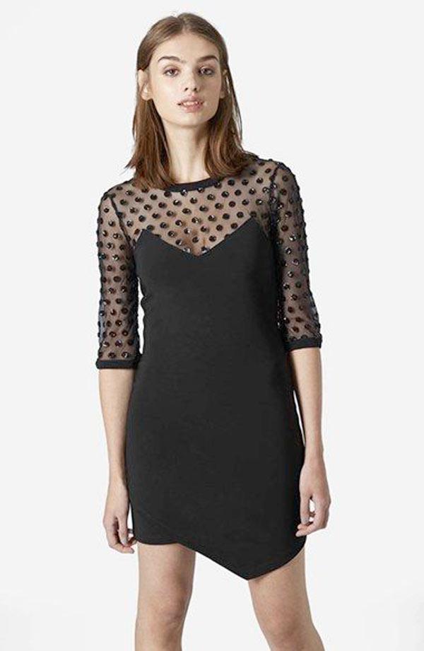 New Years Eve Dresses 2015, black dress