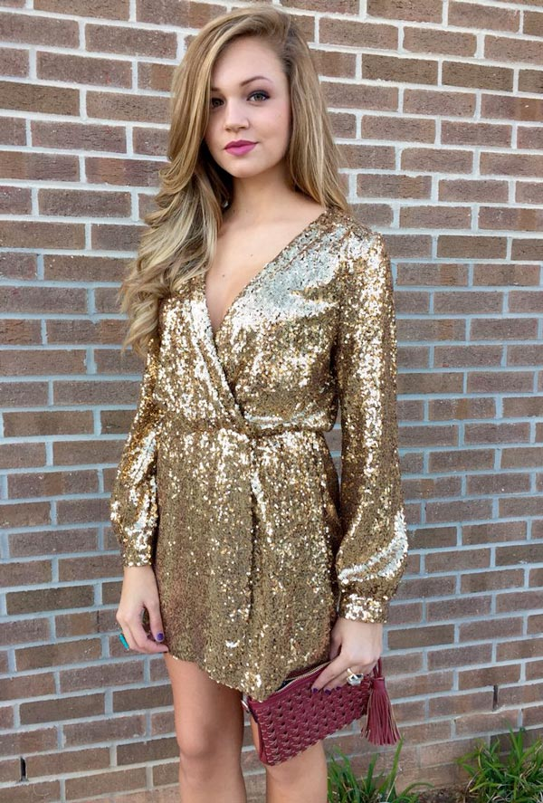 New Years Eve Dresses 2015, gold dress