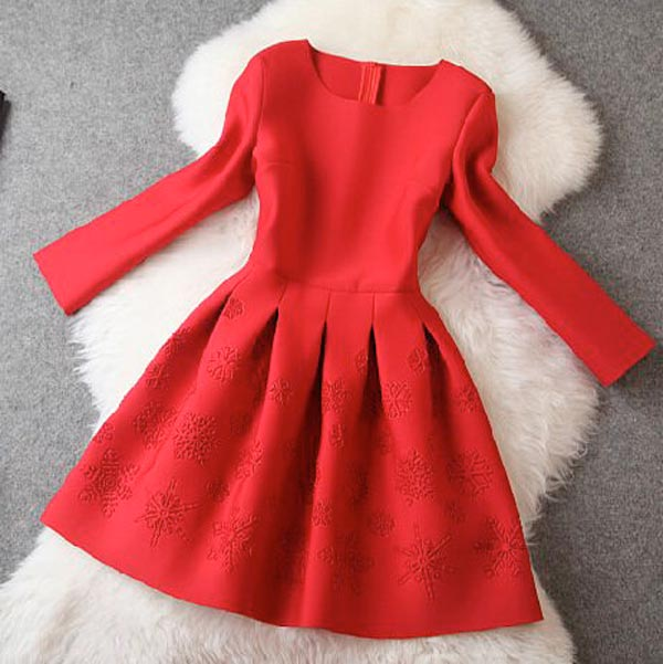 New Years Eve Dresses 2015, red dress