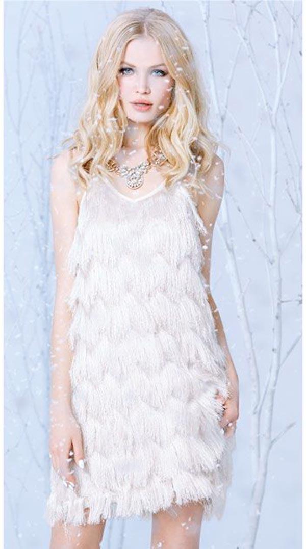 New Years Eve Dresses 2015, frozen white dress