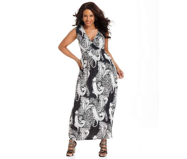 Plus Size Maxi Dresses 2015_03