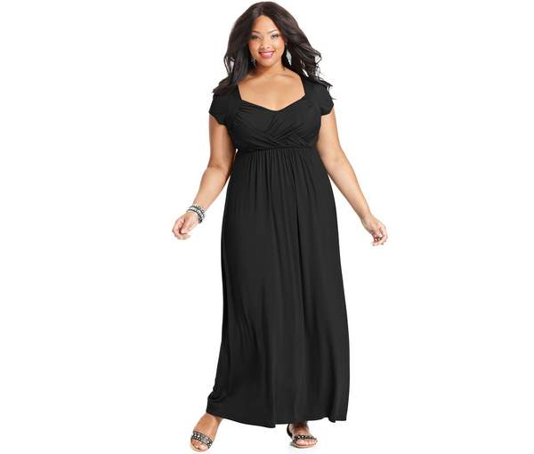Plus Size Maxi Dresses 2015_04