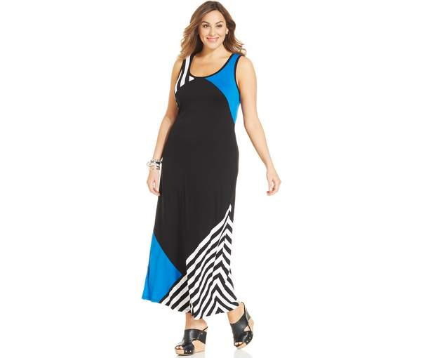 Plus Size Maxi Dresses 2015_12