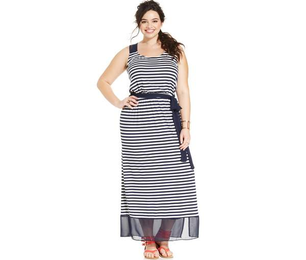 Plus Size Maxi Dresses 2015_16
