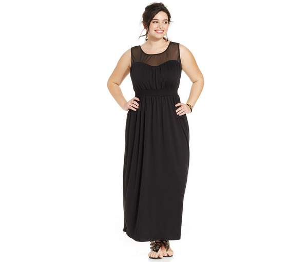 Plus Size Maxi Dresses 2015_18