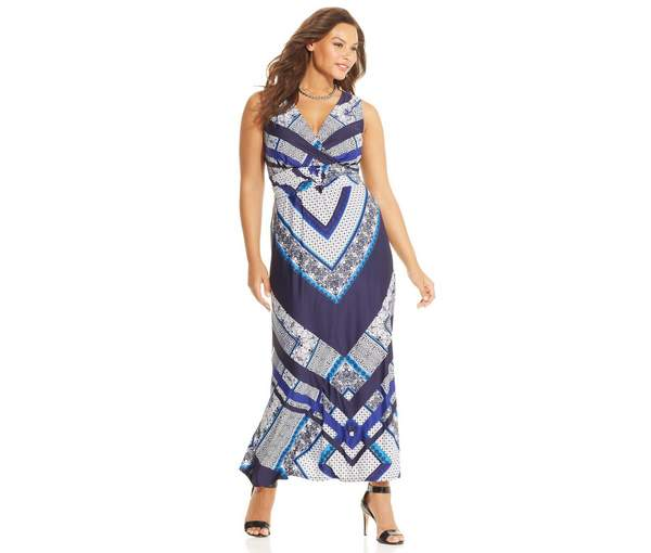 Plus Size Maxi Dresses 2015_22