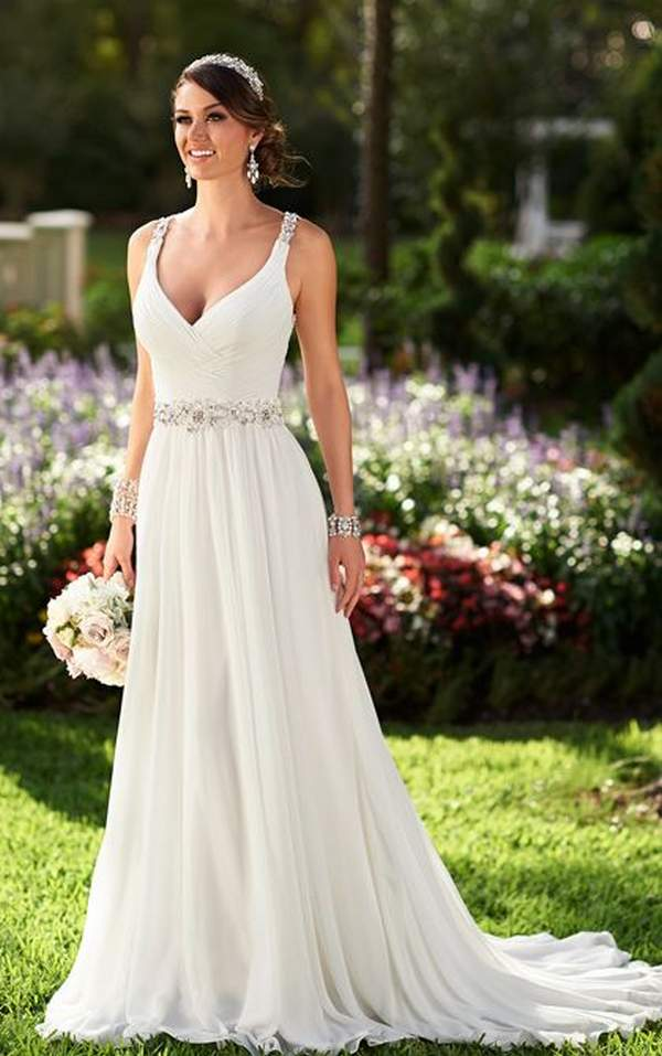 Simple Short Beach Wedding Dresses 48 Beautiful Beach Wedding Dresses