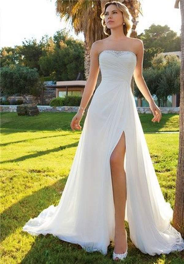 Beach Wedding Dresses 2015