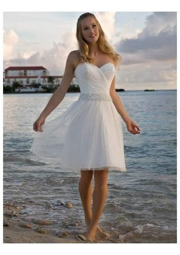 Simple Short Beach Wedding Dresses 14 Nice Beach Wedding Dresses