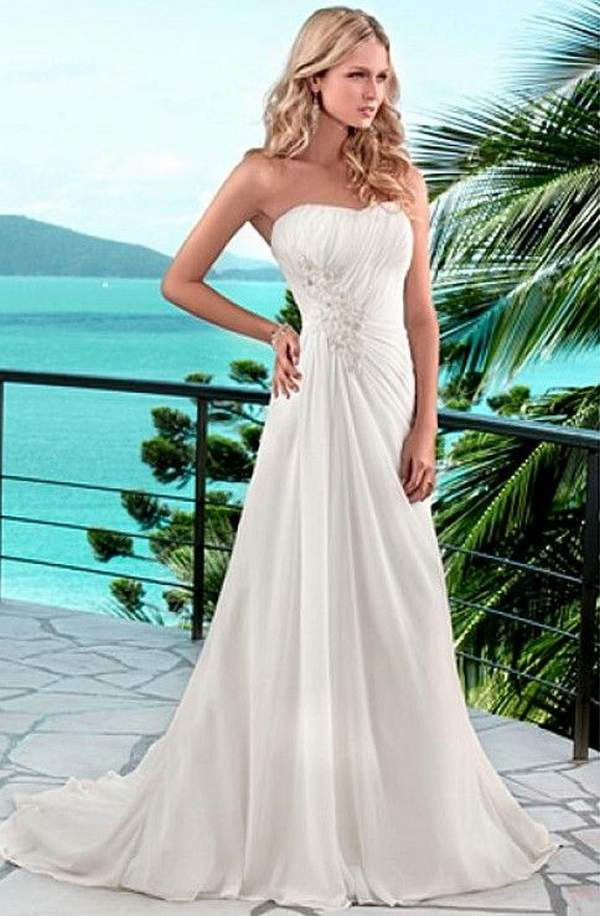Beach Dresses For A Wedding