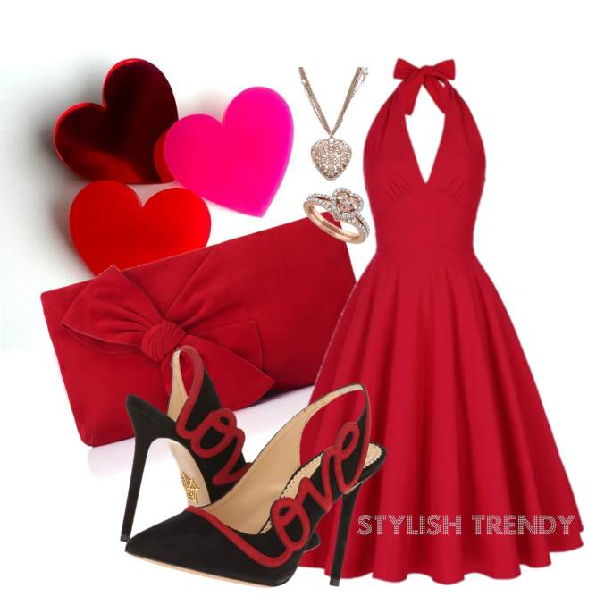 Beautiful Valentines Day Outfit Ideas_02