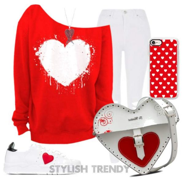 Beautiful Valentines Day Outfit Ideas