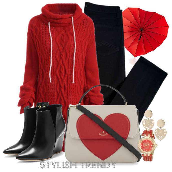Beautiful Valentines Day Outfit Ideas_07