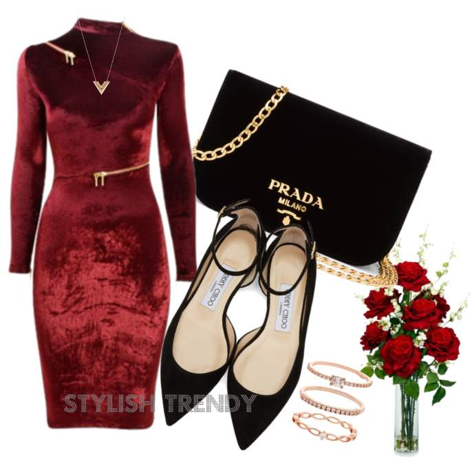 Beautiful Valentines Day Outfit Ideas_09