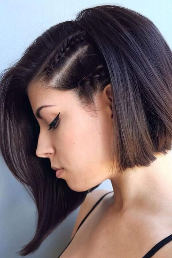 Side Braids For Short Hair - Easy Braids For Short Hair