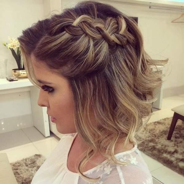 Short Hair Styles Formal - Prom Hairstyles for Short Hair