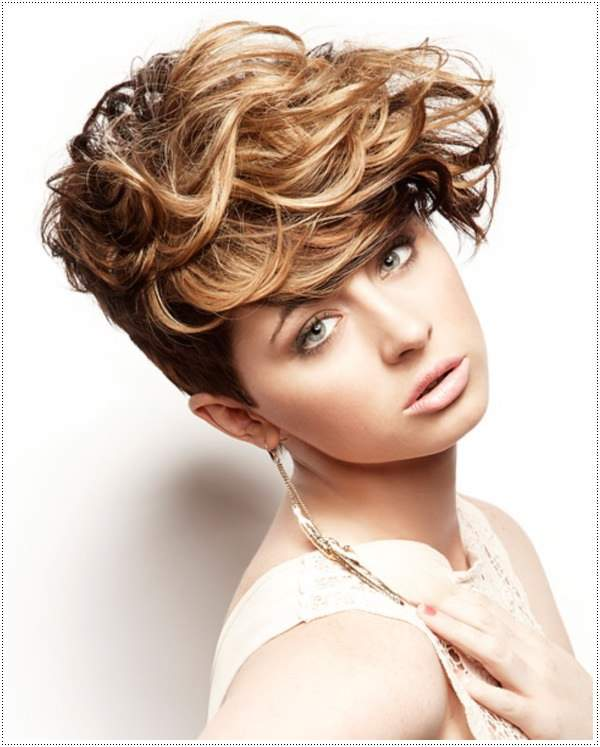 Short Curly Hairstyles Non Binary - Prom Hairstyles