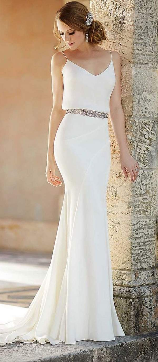 Best Styles for Beach Wedding Dresses_02