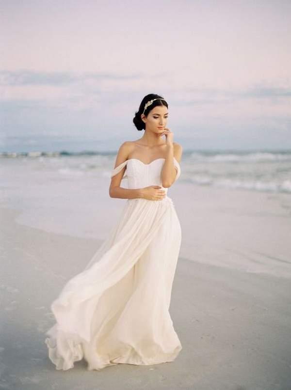 Wedding Dress Off Shoulder