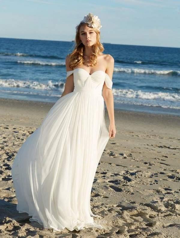 Simple Short Beach Wedding Dresses 5 Elegant Best Styles for Beach