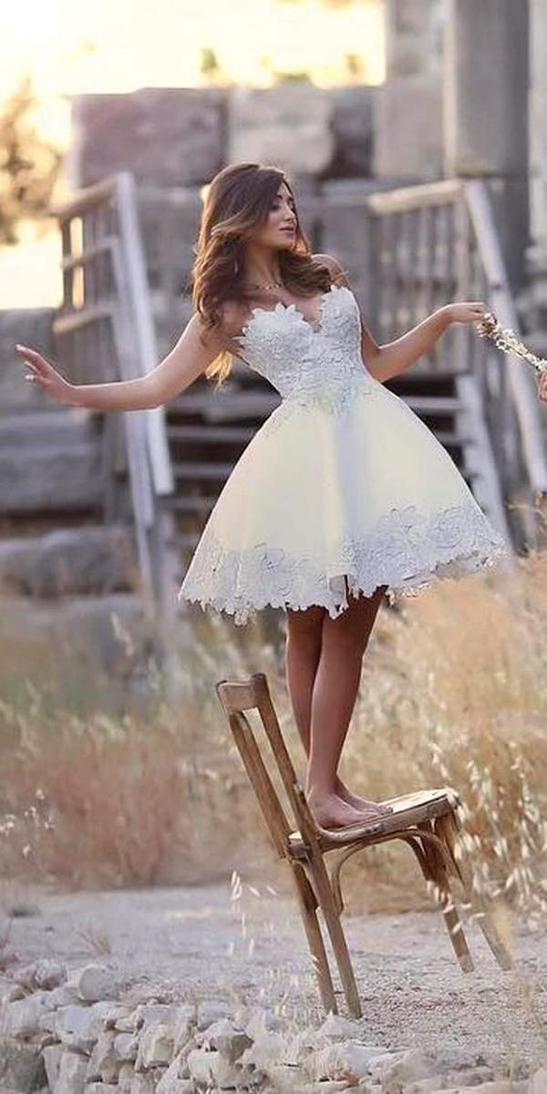 Amazing Short Wedding Dresses