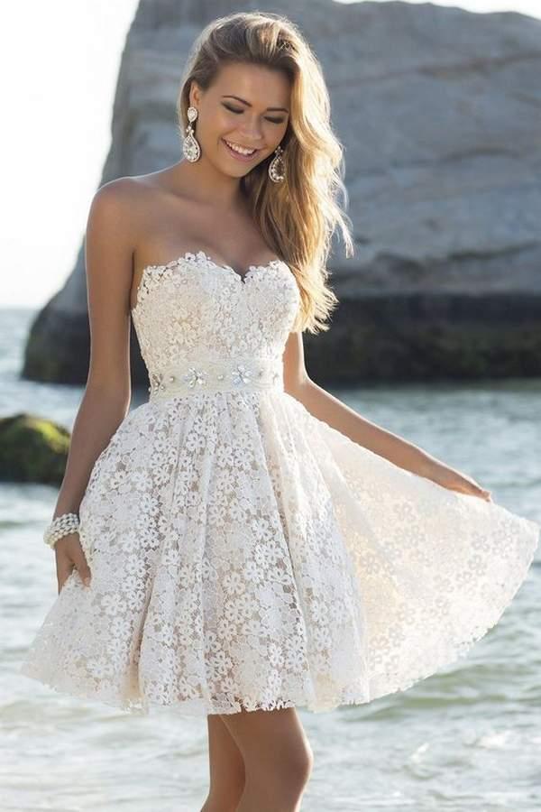 Best Short Wedding Dresses Ideas