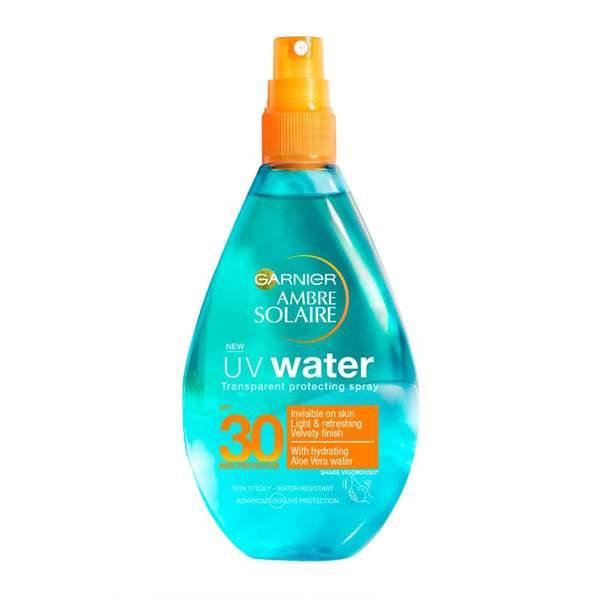 Garnier Ambre Solaire UV Water Clear Sun Cream Spray SPF30
