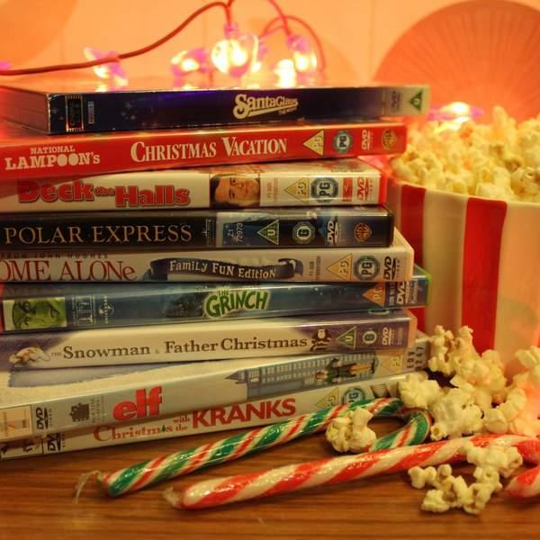 Four Christmas Party Ideas - Christmas Movie Marathon