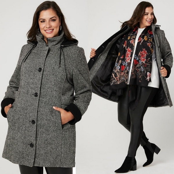 Plus size clothing for winter 2019_Winter Coat_08