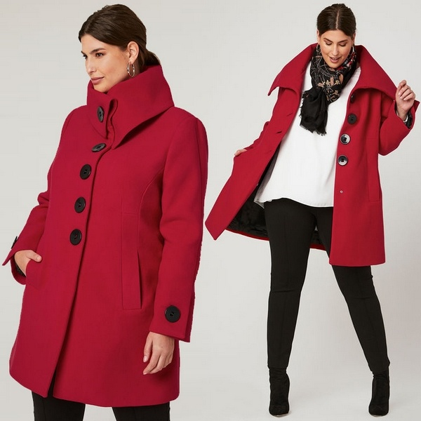 Plus size clothing for winter 2019_Winter Coat_09