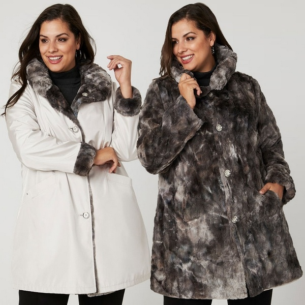 Plus size clothing for winter 2019_Winter Coat_11