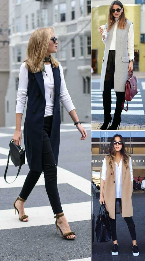 Stylish Long Vests