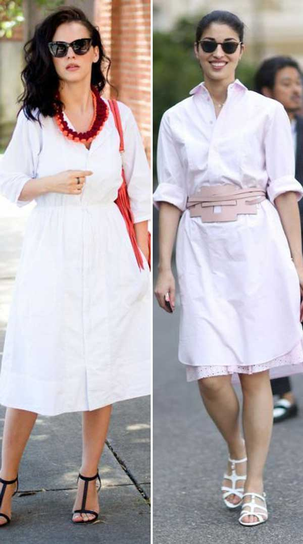 How To Wear_ Shirt Dresses