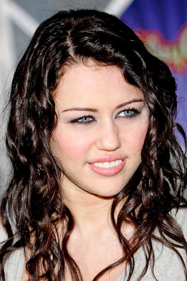Miley Cyrus Dark Side Hairstyle